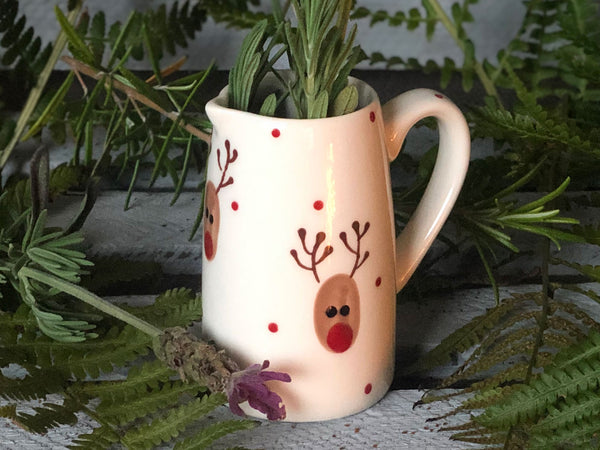 ralph the reindeer small jug
