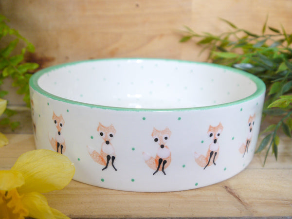 frankie fox large pet bowl