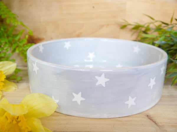 oh starry night large pet bowl