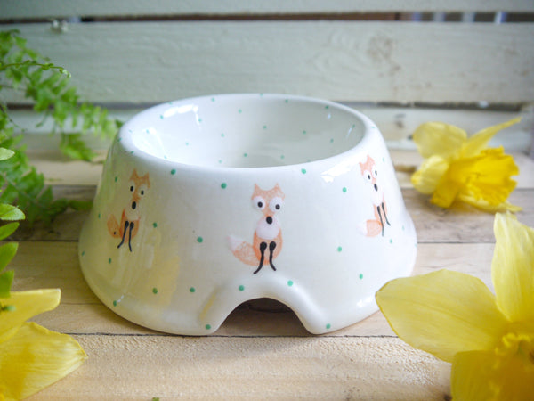 frankie fox medium pet bowl