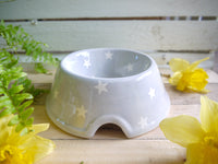 oh starry night medium pet bowl
