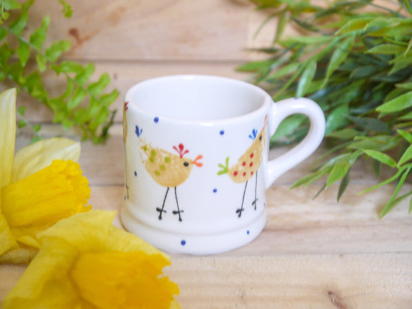 cheryl the cheeky chicken mini mug
