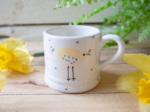 rita retro chicken mini mug