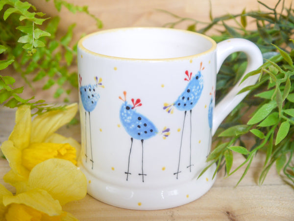 barney blue chicken mummy mug