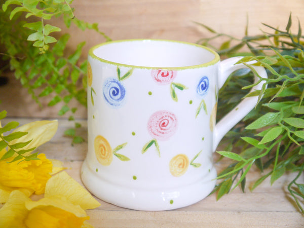 country cottage roses mummy mug