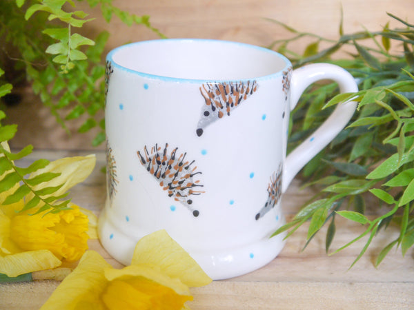 hector hedgehog mummy mug