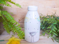 rita retro chicken milk bottle vase