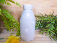 oh starry night milk bottle vase