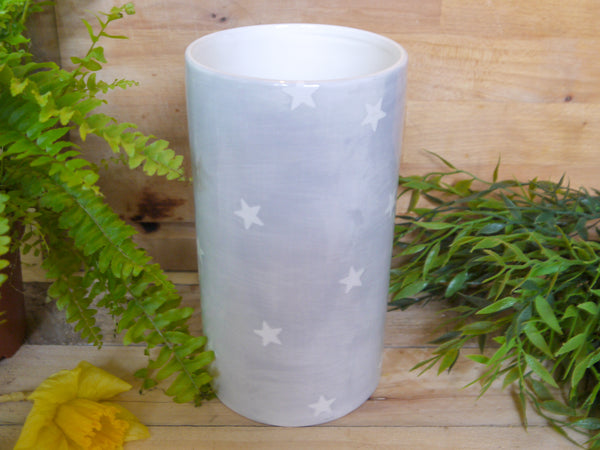 oh starry night straight vase