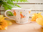 cheryl the cheeky chicken tapered mug