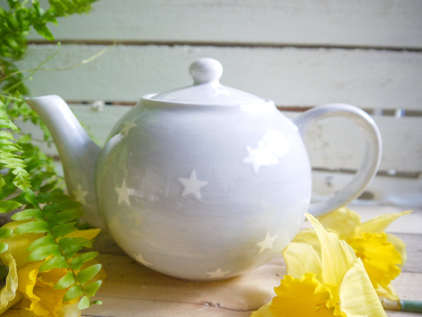 oh starry night large teapot