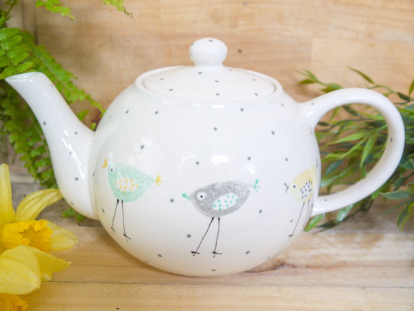 rita retro chicken large teapot