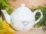 rita retro chicken small teapot