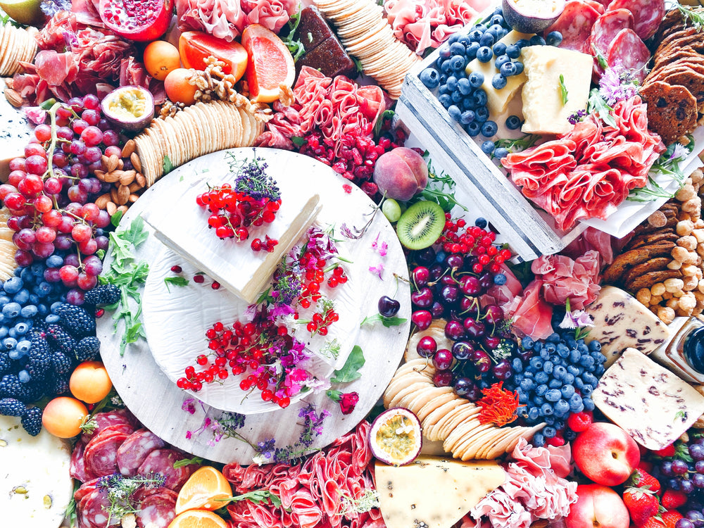 foraging platters + grazes for top-tier tastebuds!
