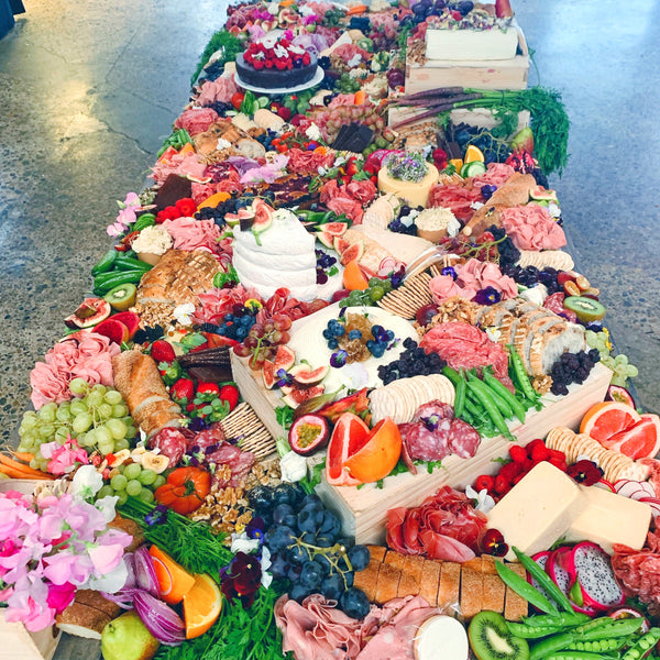 Grazing Table - 3 Metre - Platter Up Co