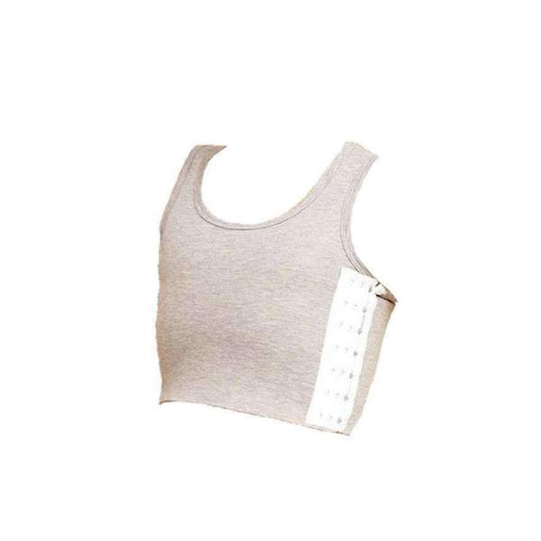Short Top Chest Binder - fashionandclothing