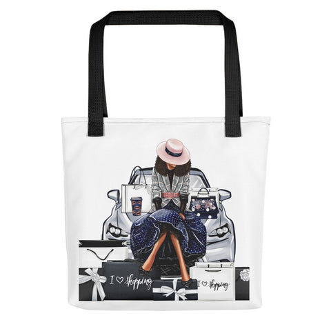 Love to Shop Tote bag