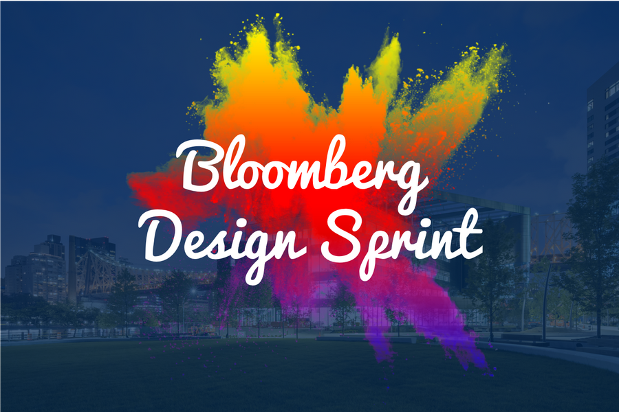 Design Sprint Bloomberg Master's Studio