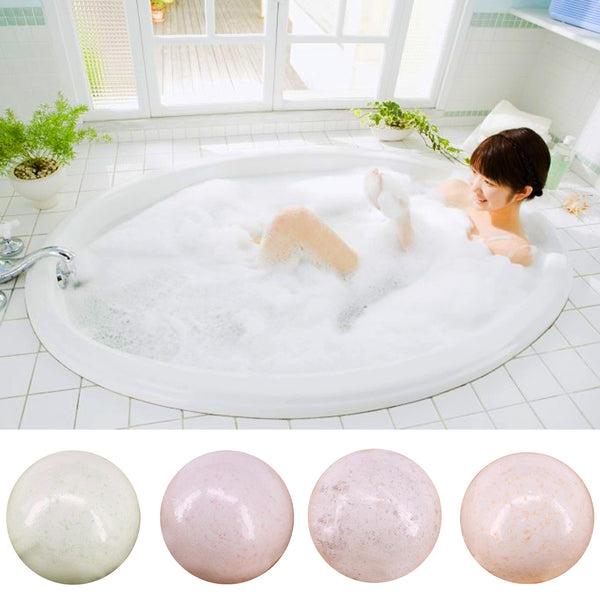 100g Natural Bath Bombs Fragrant Smell SPA Salt Ball Relax Stress Relief Bombs Bath Ball for Moisturizing Dry Skin Holiday Gift