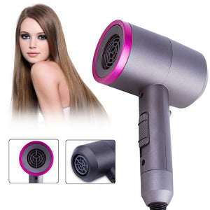 2019 Hot Sell Professional Hair Blow Dryer 1400W Ionic Hot Air Fast Hair Dryer 2 Speed Hammer Shape Hair Diffusers/Nozzle