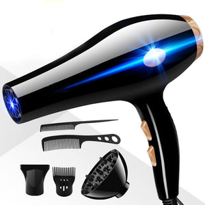 2200W Large Power Styling Accessory Household Professinal Blow Hair Dryer Set Electric Hair Blow Dryer Comb Set US Plug