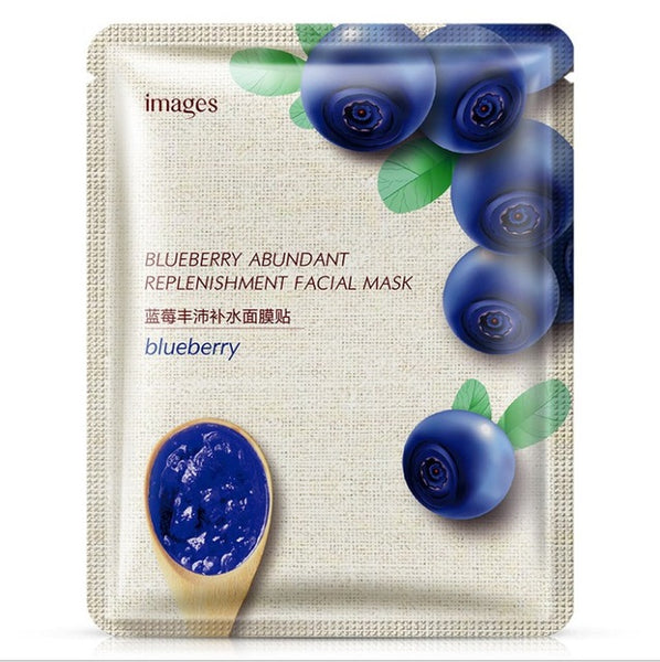 Plant Facial Jelly Sheet Mask Deep Moisturing Deep Moisturizing Hydrating Jelly Wrapped Face Mask Skin Care
