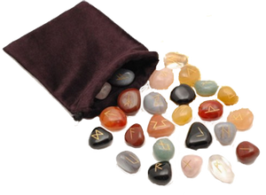 Mixed Crystal Rune Stones