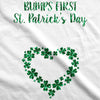 Bumps First St. Patrick's Day Maternity Tshirt