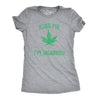 Kiss Me I'm Highrish Women's Tshirt