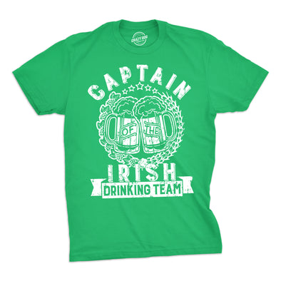 Captain Of The Irish Drinking Team Men's Tshirt