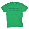 I'm Just Here To Get Lucky Men's Tshirt