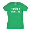 I Clover Day Drinking Women's Tshirt