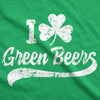 I Clover Green Beers Men's Tshirt