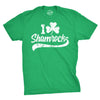 Mens I Clover Shamrocks Tshirt Funny St Patricks Day Parade Tee
