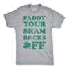 Paddy Your Shamrocks Off Men's Tshirt
