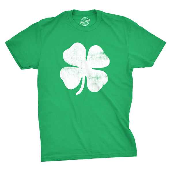 Four Leaf Clover Men's Tshirt