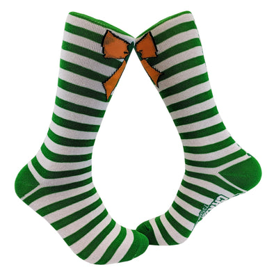Orange Bow Socks