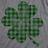Buffalo Plaid Shamrock Men's Tshirt