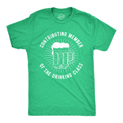 A Contributing Member Of The Drinking Class Men's Tshirt