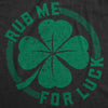 Rub Me For Luck Women's Tshirt