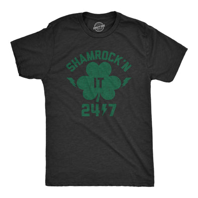 Shamrock'n It 24/7 Men's Tshirt