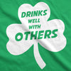 Drinks Well With Others Men's Tshirt