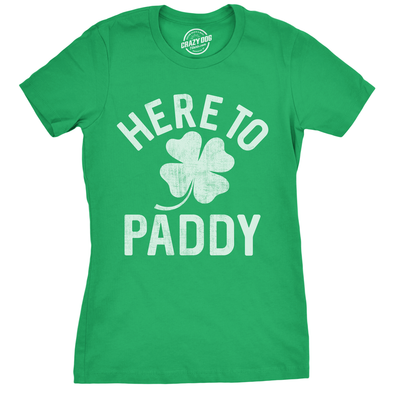 Here To Paddy Women's Tshirt
