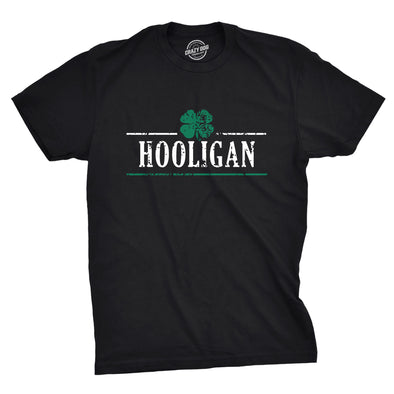 Hooligan Shamrock Men's Tshirt