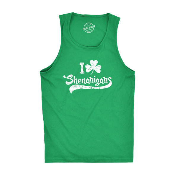 I Clover Shenanigans Men's Tank Top