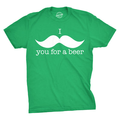 I Mustache You For A Beer Men's Tshirt