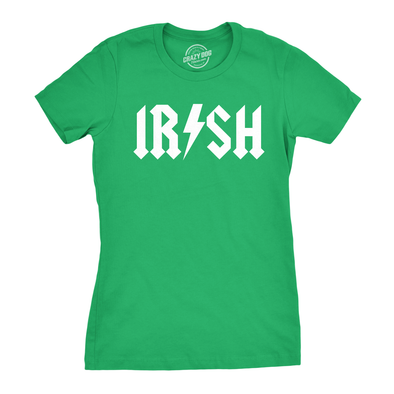 Irish Rockstar Women's Tshirt