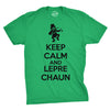 Keep Calm And Leprechaun Men's Tshirt