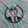 Make St. Patrick's Day Great Again Women's Tshirt