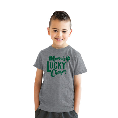 Mama's Lucky Charm Youth Tshirt